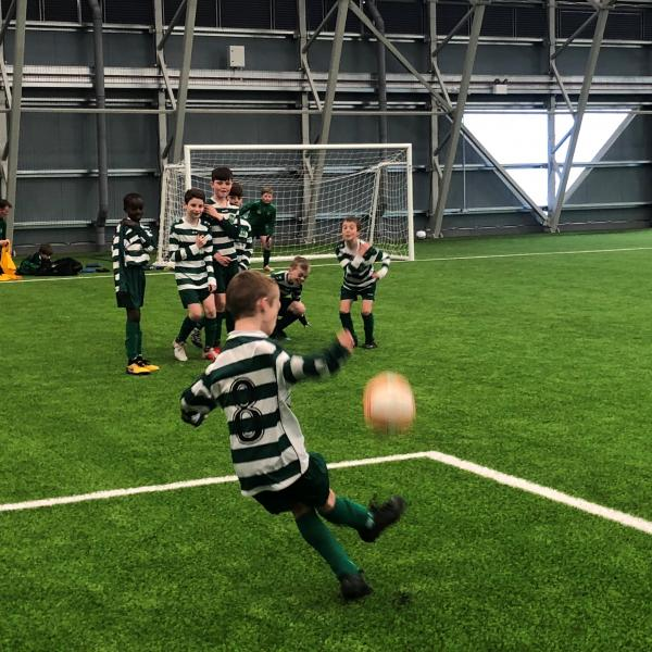 Indoor Covered Pitches kid soccer